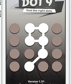 dot 9 free puzzle brain App – jetzt im Store
